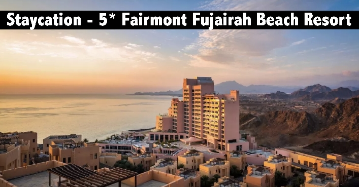 Staycation - 5* Fairmont Fujairah Beach Resort with Breakfast or All Inclusive