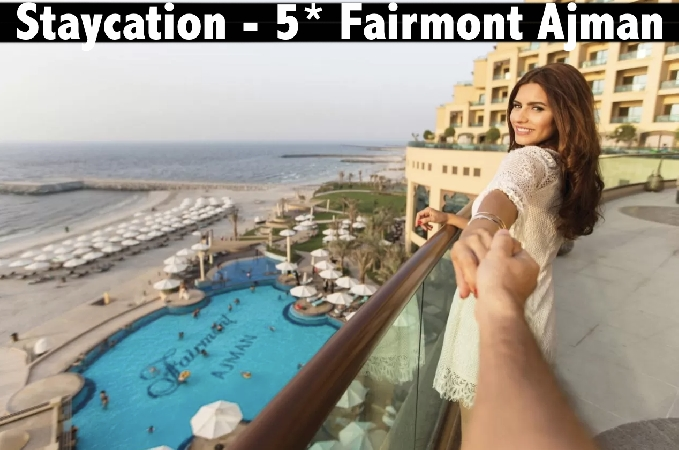 Staycation - 5* Fairmont Ajman - Stay with Breakfast or All Inclusive