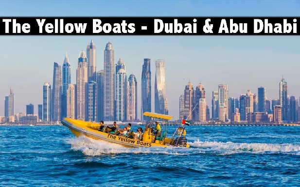 The Yellow Boats - Dubai & Abu Dhabi Tours from only AED140
