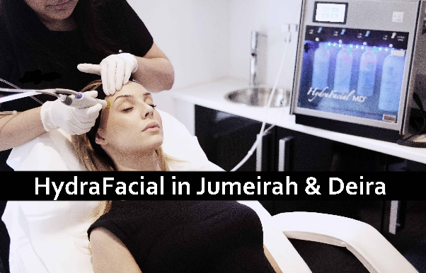 Hydra Facial Treatment 1 session (AED399) or 2 sessions (AED749)