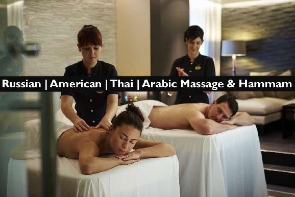 Russian | American Unisex Massage or Moroccan Bath in JLT