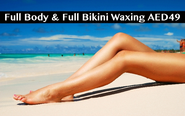 Bodyline Salon - Full Body Waxing + Full Bikini Waxing for only AED49