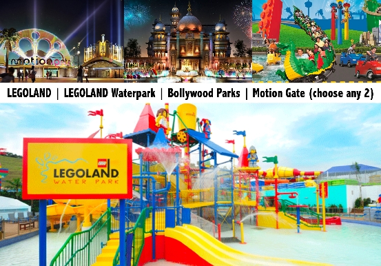 LEGOLAND | LEGOLAND Waterpark | Bollywood Parks | Motion Gate