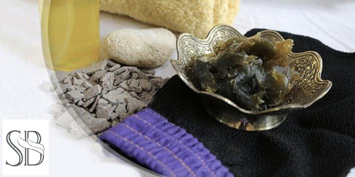 Traditional Moroccan Bath, Face Mud Mask, Body Scrub, Hair Spa - Mamzar