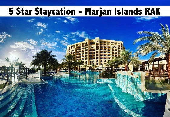 Staycation - 5* DoubleTree by Hilton Resort & Spa, Marjan Island RAK