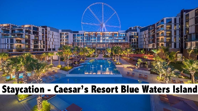 Staycation - 5* Caesars Resort Blue Waters Island, Night Stay with Breakfast