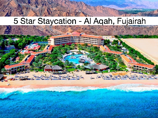 Staycation - 5* Fujairah Rotana Resort & Spa - BB, Half Board, All Inclusive