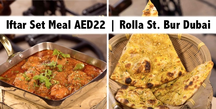 Iftar Set Meal with Indian & Chinese Delicacies in Bur Dubai Rolla St.