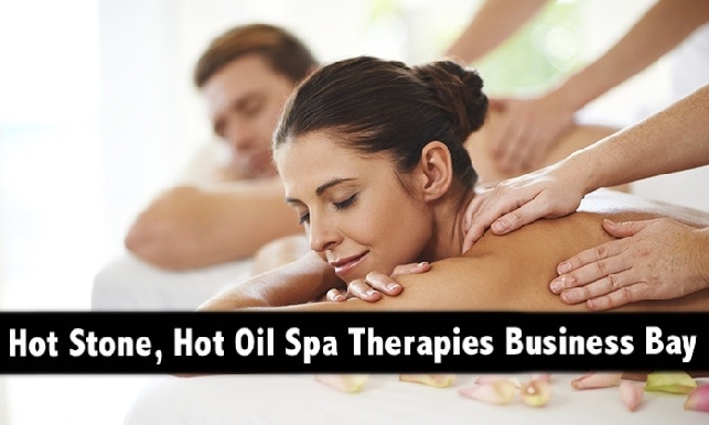 1hr Hot Oil, Hot Stone & Oil Relaxation Therapies in Business Bay from AED59