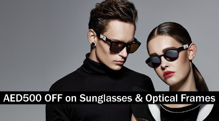 AED500 Off on Sunglasses & Optical Frames - Dubai - I & Eye Optics