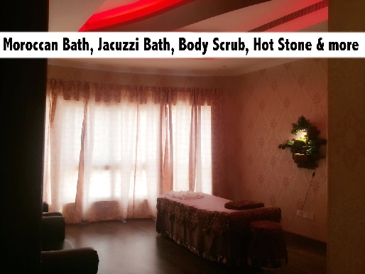 RG VIlla Moroccan Bath, Relaxation Therapy, Hot Stone Therapy & Jacuzzi