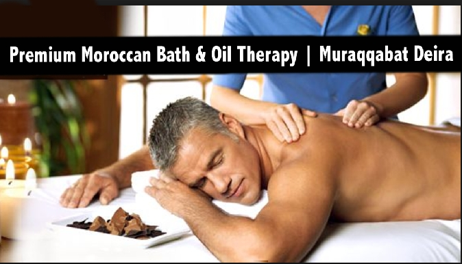 Muraqqabat Premium Moroccan Bath & Oil Relaxation Therapy from AED69