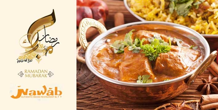 Iftar Buffet at Nawab Authentic Indian Restaurant Jumeirah Plaza