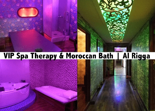 VIP Spa Therapy, Moroccan Bath, Jacuzzi in Rigga - Cherry Blossom Spa