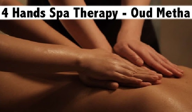 4 Hands Oil Relaxation Therapy Oud Metha - Crystal Rose Spa