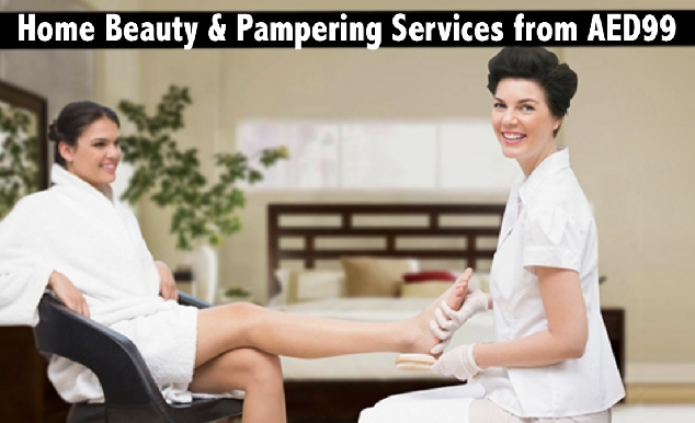 Home Beauty Services Packages from only AED99