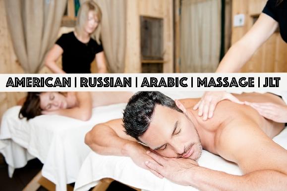 Russian | Arabic | American Unisex Massage or Moroccan Bath in JLT