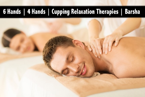 6 Hands, 4 Hands, Cupping & Oil Relaxation Therapy - Al Barsha 1