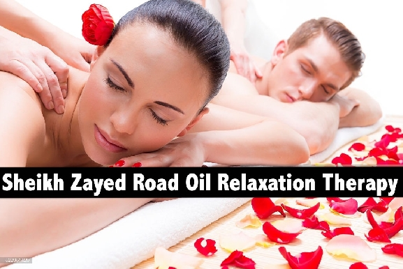 Sheikh Zayed Road Oil Relaxation Therapy for AED69 - Alamanda Spa