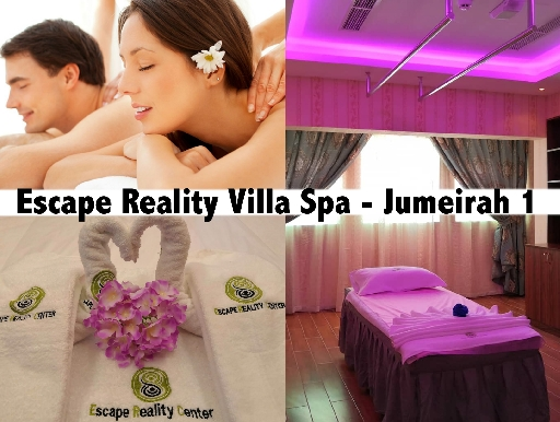 Jumeirah Villa Spa, Moroccan Bath & Jacuzzi from AED89 - Escape Reality Spa