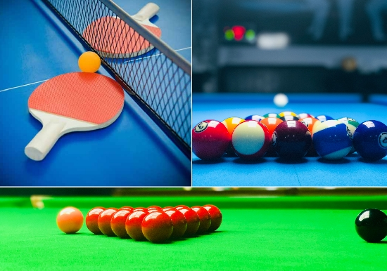Billiards, Snooker, Table Tennis, Play Station with Free Pizza or Snacks