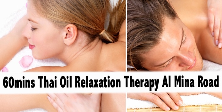 Al Mina Road 60mins Professional Thai Relaxation Therapy for AED75