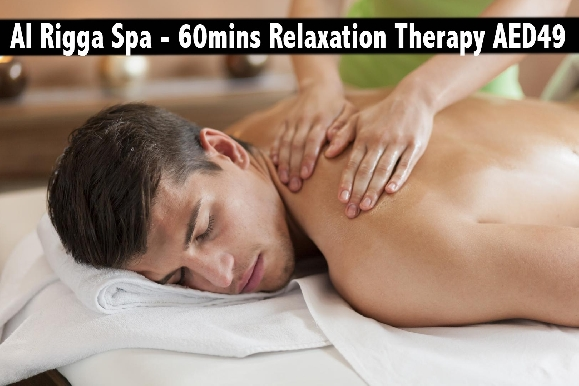 Rigga Spa - 60mins Full Body Oil Relaxation Therapy for only AED49