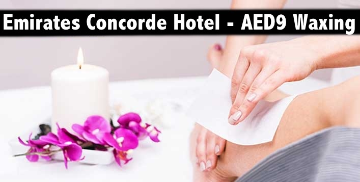 Emirates Concorde Hotel - AED9 Waxing (Any 1 Body Part Waxing)