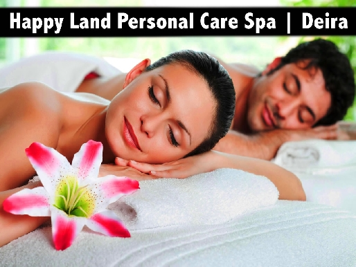 Single & Couple's Oil Relaxation Therapy - Happy Land Personal Care Deira