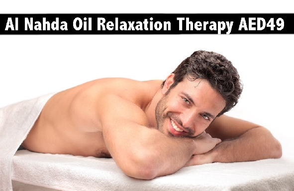 Al Nahda Oil Relaxation Therapy Session for only AED49 - Behind Sahara Center