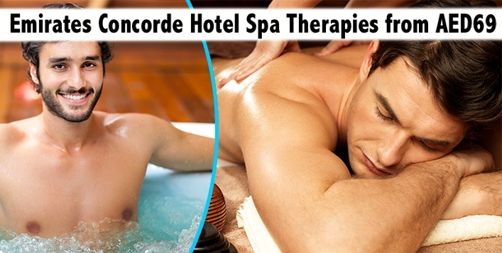 Emirates Concorde Hotel Oil Relaxation Therapy, Moroccan Bath & more