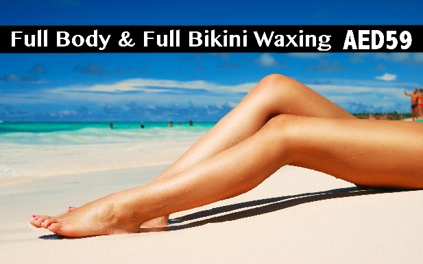 Bodyline Salon - Full Body Waxing + Full Bikini Waxing for only AED59