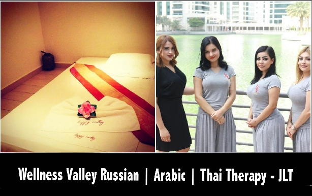 Wellness Valley Spa JLT - Russian, Arabic, Thai Oil Therapy or Moroccan Bath
