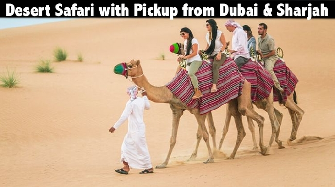 Desert Safari - Common Point Pickup AED69 - Dubai & Sharjah