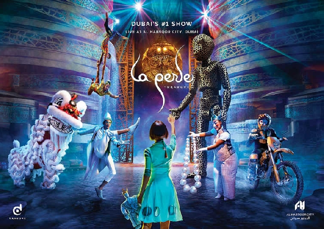 La Perle by Dragone Tickets from AED229 - Spectacular Theatre!