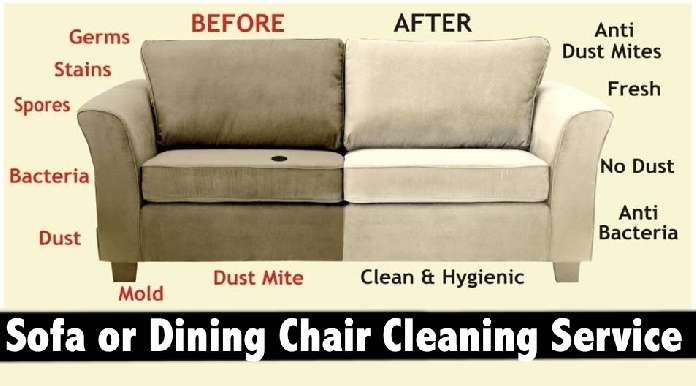 Sofa or Dining Chair Dry Cleaning Services in Dubai, Sharjah & Ajman