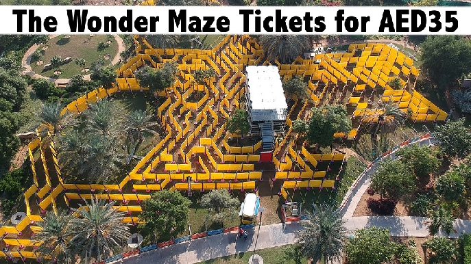Unlimited Day Pass for the Wonder Maze for AED35 - Dubai or Al Ain