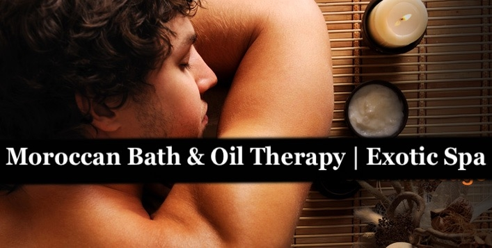 Exotic Spa 90mins Oil Therapy & Moroccan Bath Packages - Al Karama