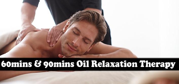 90mins Oil Therapy (AED85) & 60mins Oil Therapy (AED55) - Green Land Spa