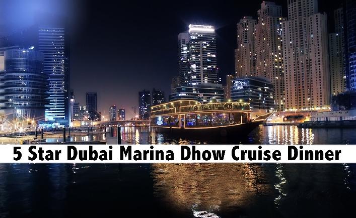 5 Star Dubai Marina Le Fleur's Cruise with Dinner & Entertainment