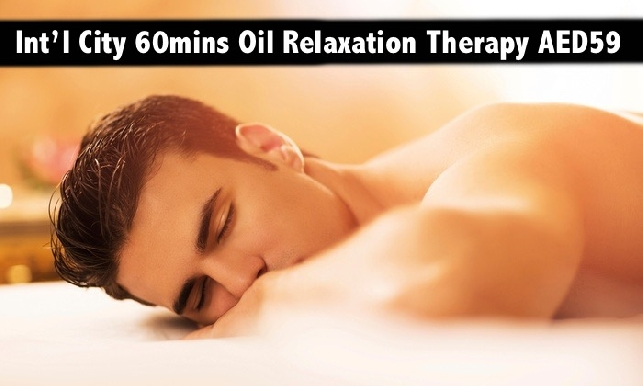 International City CBD - Full Body Oil Relaxation Therapy up to 90mins