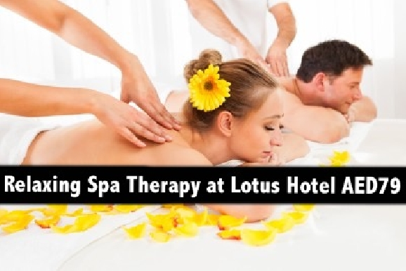 Lotus Hotel 60mins Arabic & Thai Oil Relaxation Therapy in Abu Hail