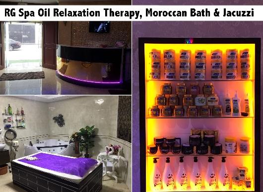 RG Villa Premium Oil Relaxation Therapy, Moroccan Bath, Scrub & Jacuzzi