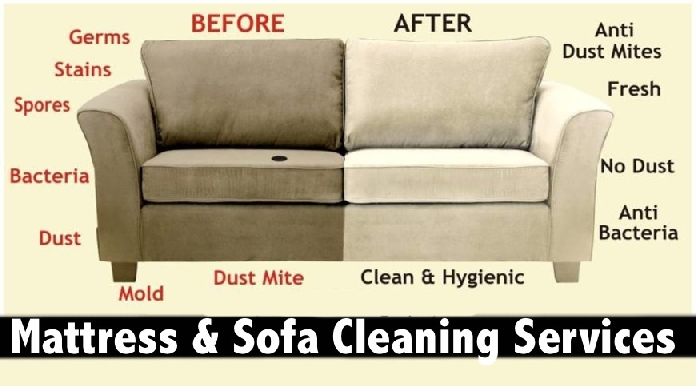 Mattress & Sofa Cleaning Services all over Dubai from only AED39