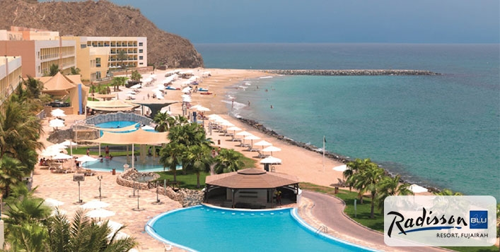 Staycation - 5* Radisson Blu Fujairah, Stay with Breakfast