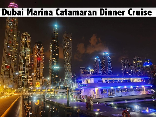 Dubai Marina 5 Star Buffet on Glass Boat - Child (AED89), Adult (AED119)