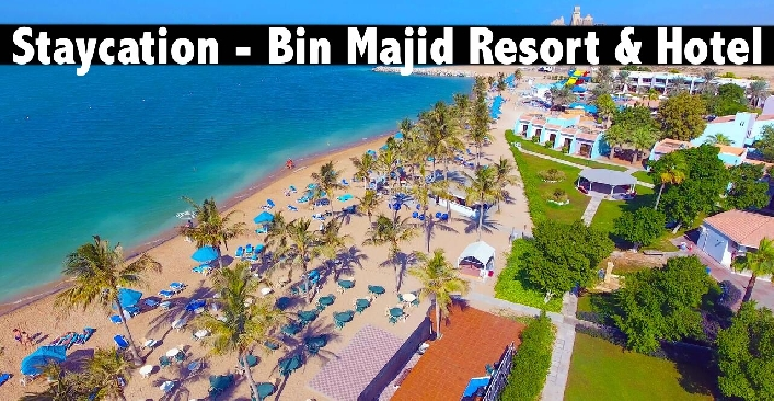 Staycation - Bin Majid Beach Resort or Hotel RAK, All Inclusive