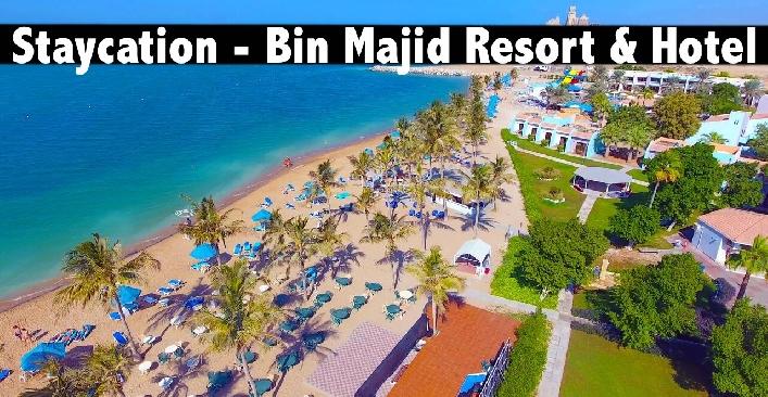 Staycation - Bin Majid Beach Resort or Hotel RAK with Breakfast
